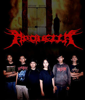 Arquella Band Deathcore Tangerang Indonesia Logo Photo Wallpaper