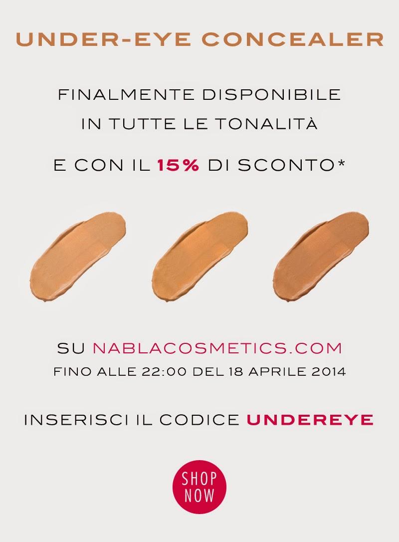 Nabla - Under-Eye Concealer scontati del 15%