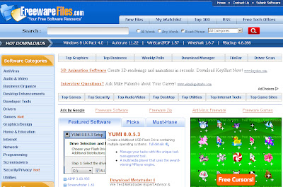 free software download photo of site freewarefiles.com . foto for free software wallpaper
