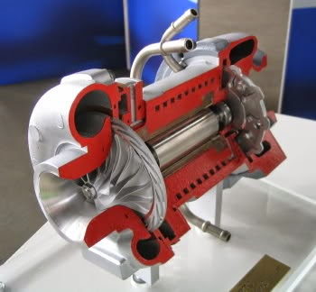turbina motor electrico