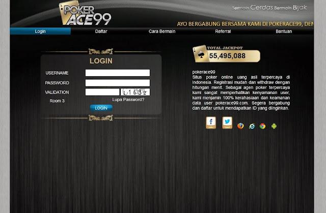 Daftar Poker Online Uang Asli PokerAce99.com