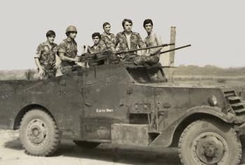 Saída para patrulhamento em Cufar
