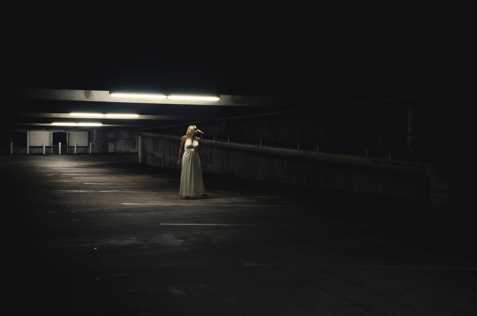 Dark Spooky Car Park