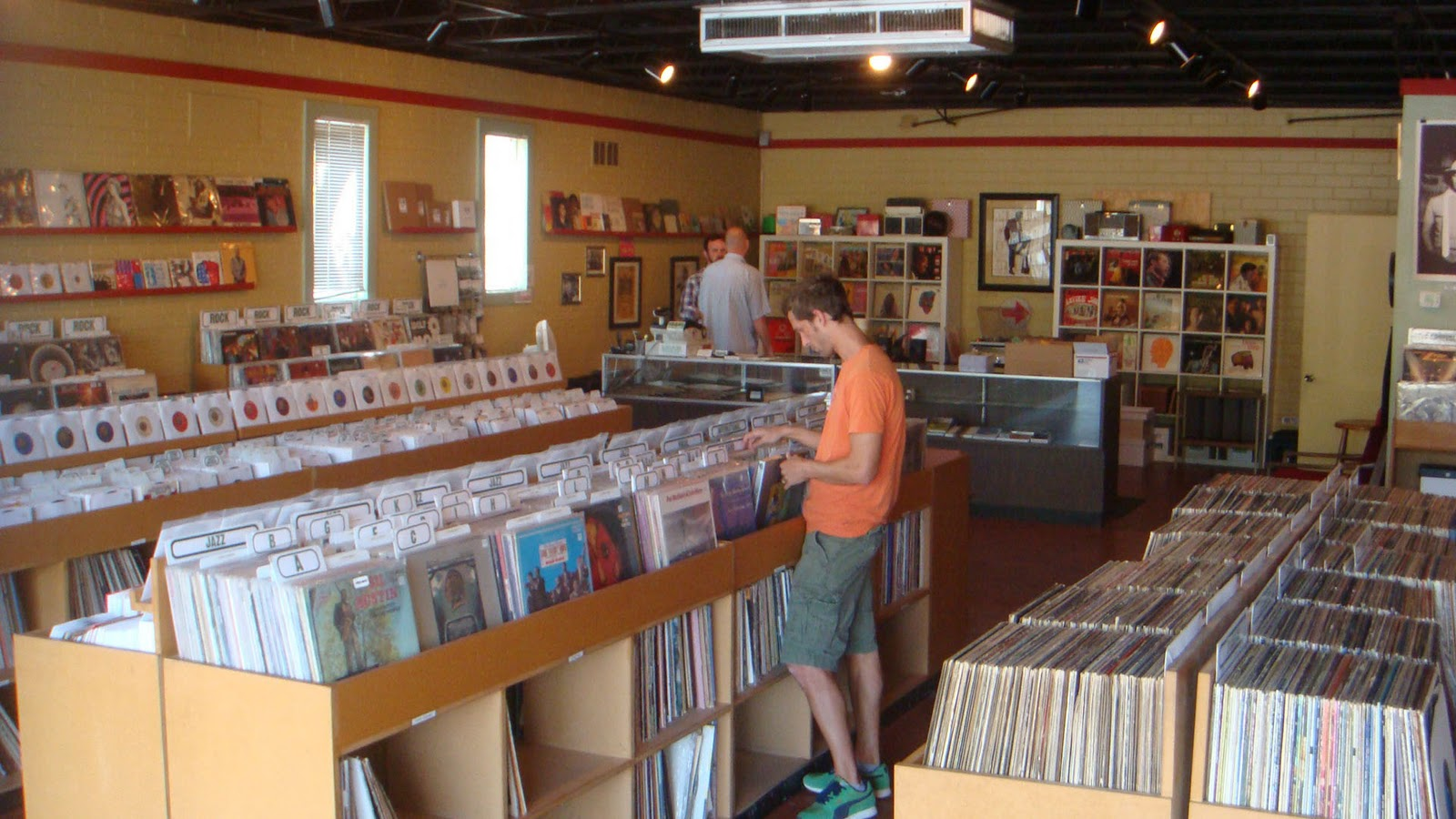 The vinyl record collector austin tx