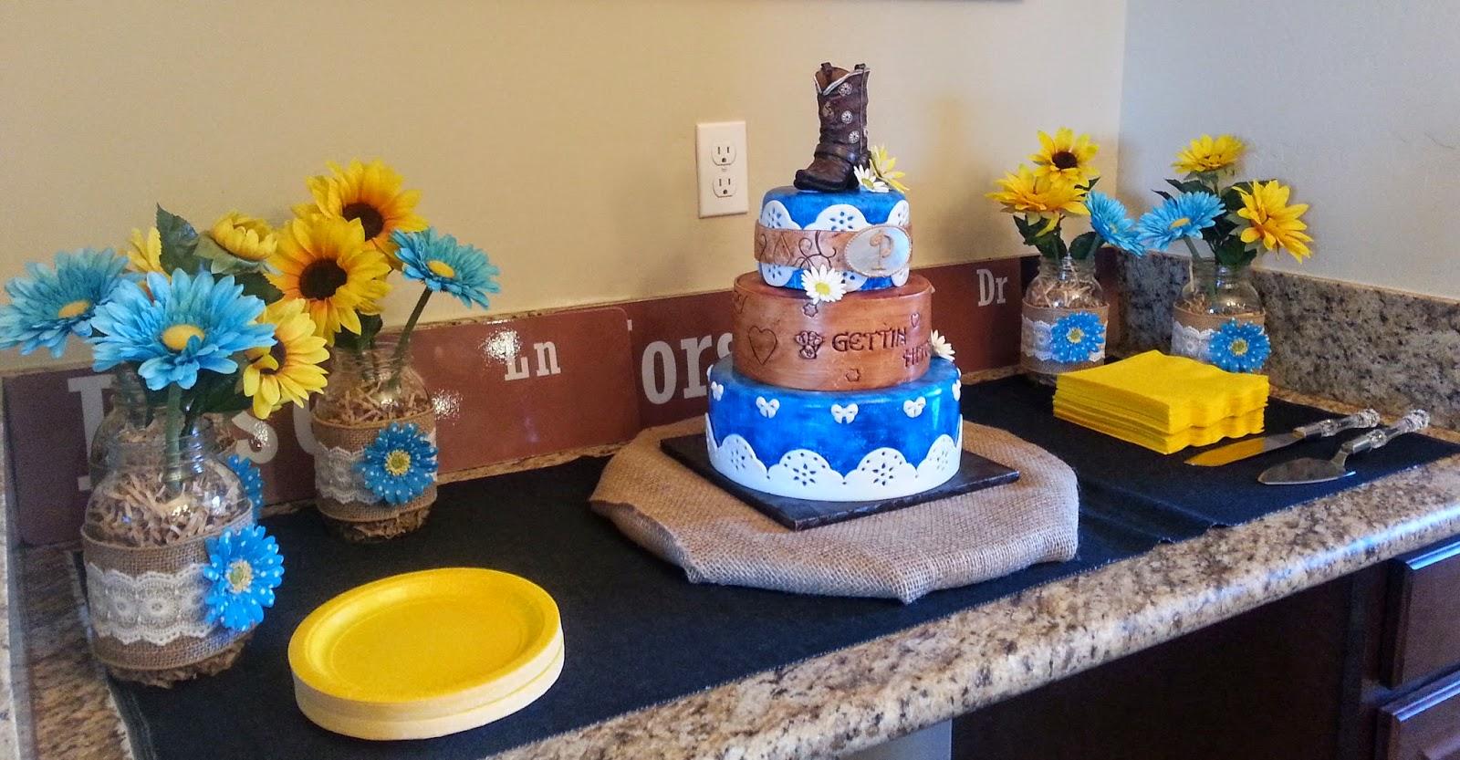 Cake & Dreams: Western Wedding Cake