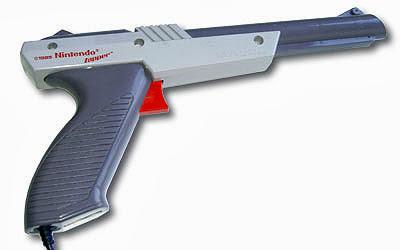 Imagen de la pistola de la consola