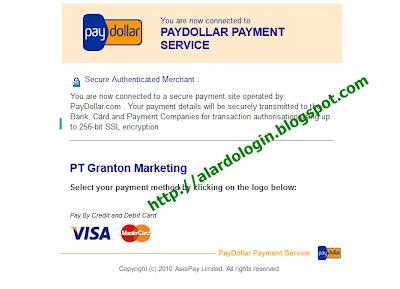 Mastercard atau visa yang menjadi pilihan anda di Grantonworld