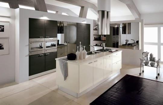 Cocinas de colores neutros colores en casa - Cucine eleganti moderne ...