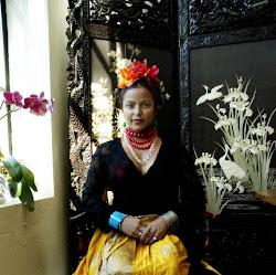 Frida In My Heart..Kunst/foto prosjekt med Xenia Villafrance fra 2006