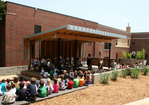 Outdoor Classroom Design Elementary School ~ Chua jinping case studies