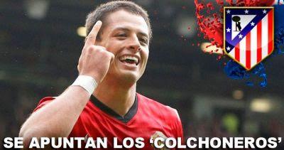 ¡Si Falcao se va!, 'Chicharito' llegaría al Atlético