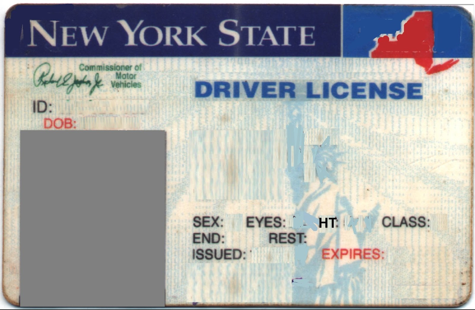 State Id Templates Free Kleobeachfixco - Free drivers license template photoshop