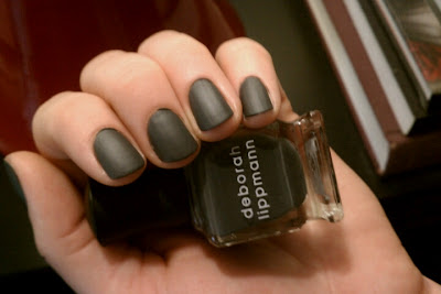 Deborah+Lippmann+Stormy+Weather+Matte+Topcoat Polished: Deborah Lippmann Stormy Weather