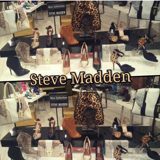 I love the display of the New Collection of Leopard Print at Steve Madden  in Fourways Mall.