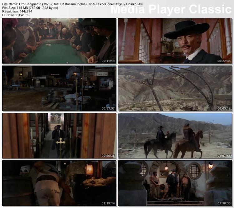Capturas, Oro Sangriento, Secuencias de la película