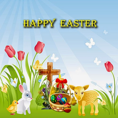 Easter Bunny Easter Quotes - bunny wishes you a happy easter wallpapers