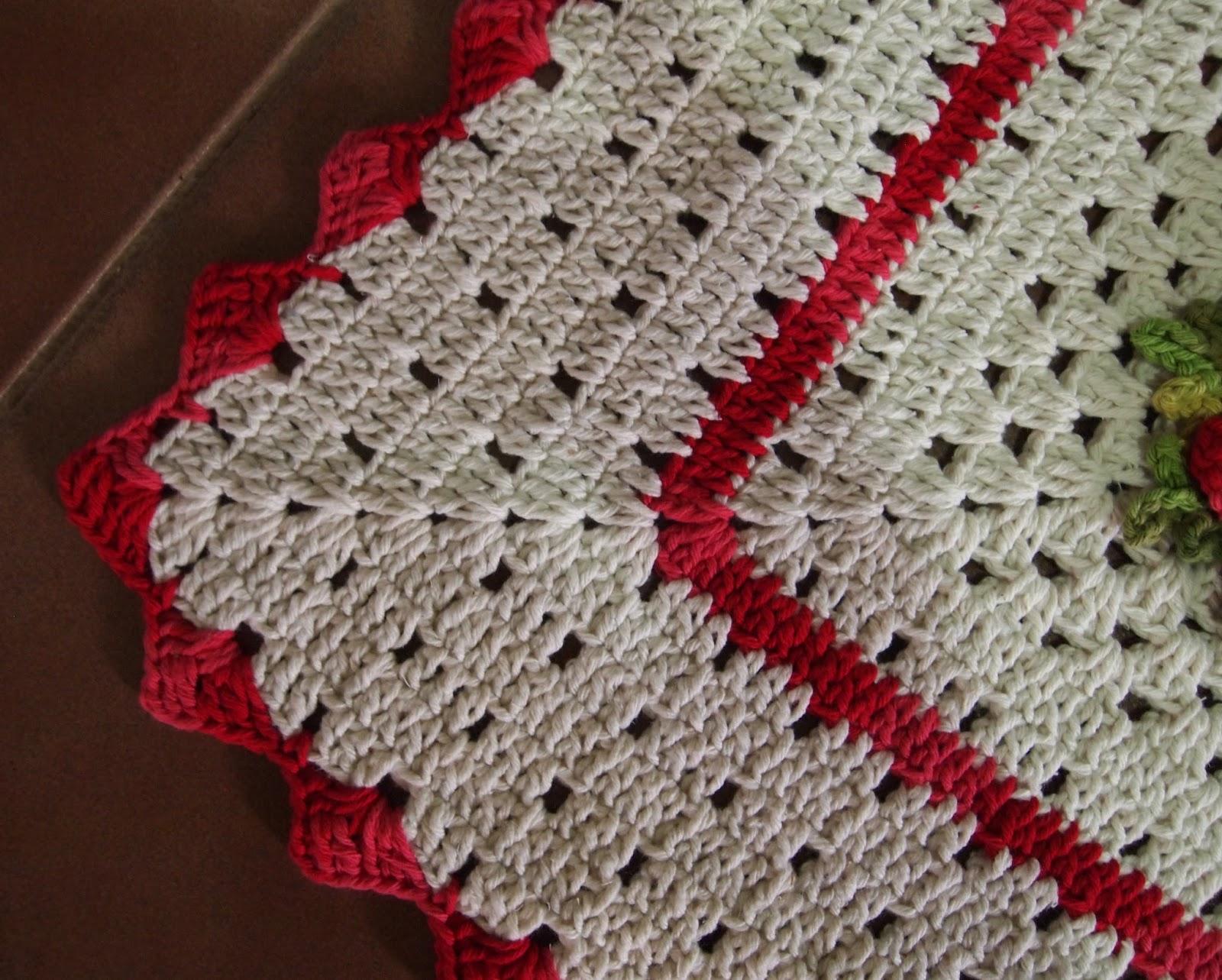 os croches da elsa tapete retangular   flor cata vento