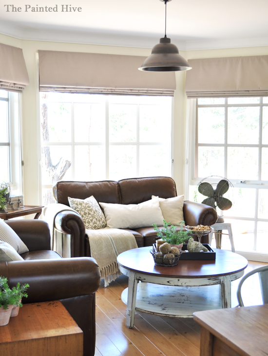 diy show off rustic industrial living room makeoverdiy show off diy decorating and home. Black Bedroom Furniture Sets. Home Design Ideas