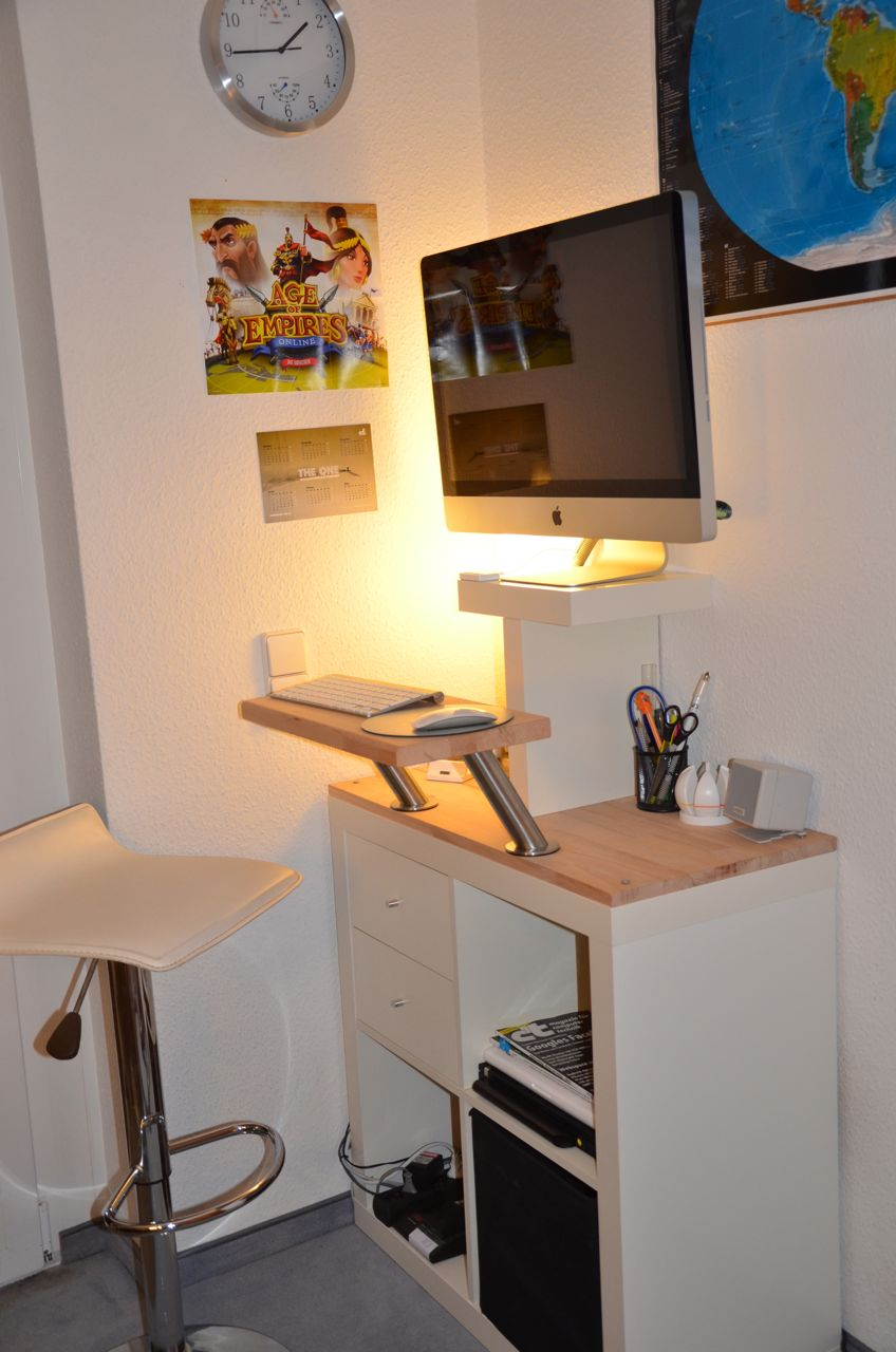 Mr. T: another iMac standing desk ~ Get Home Decorating