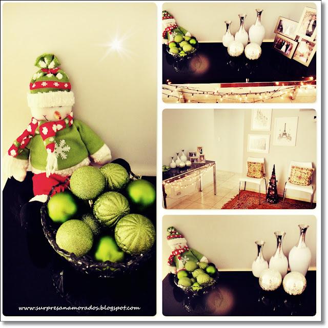decoração de natal em casa