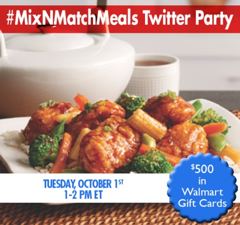 #MixNMatchMeals Twitter Party #shop #cbias