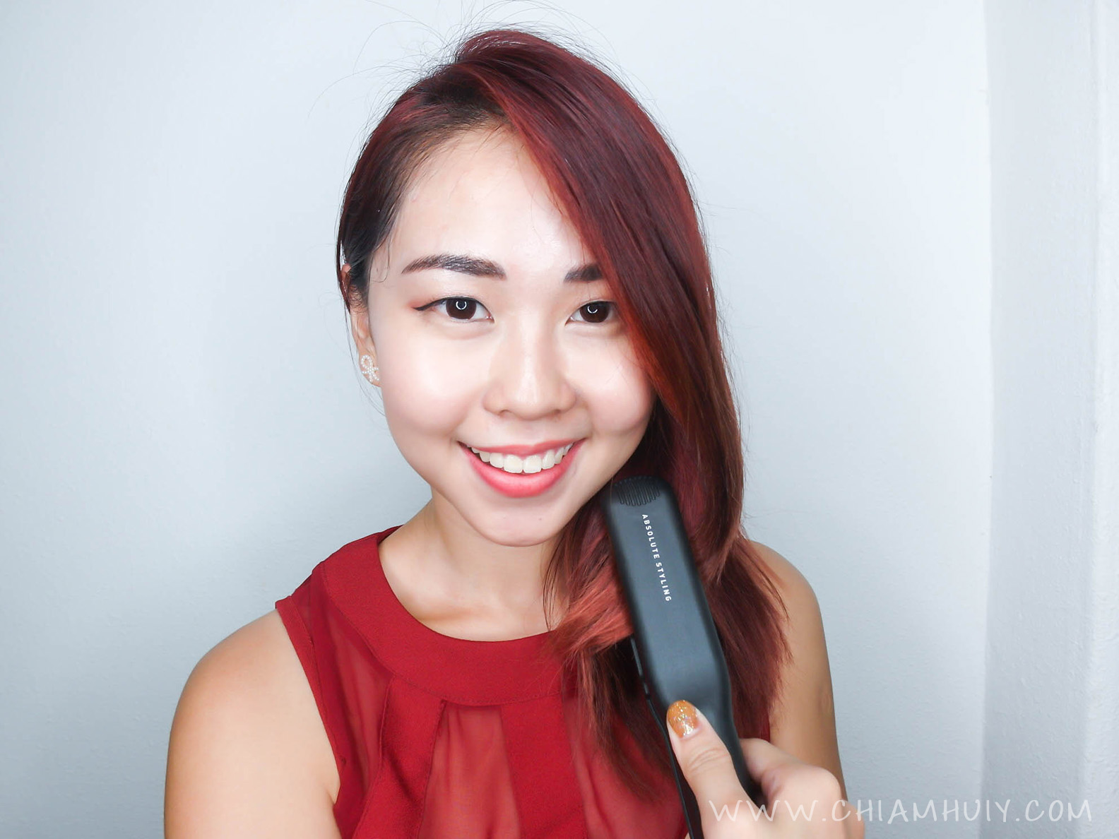 Straighten Your Hair With Glampalm Hair Straightener