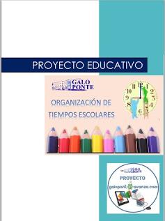 PROYECTO EDUCATIVO DE TIEMPOS ESCOLARES