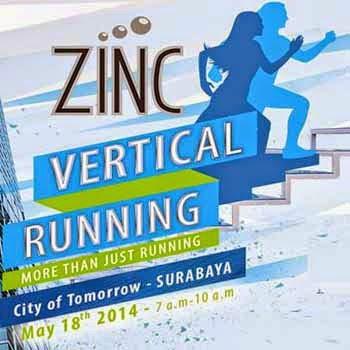 ZINC Vertical Running Surabaya