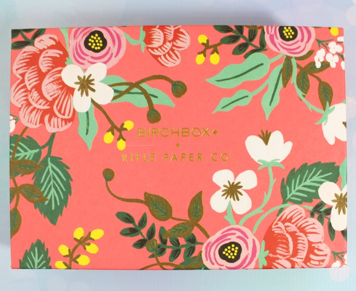 Birchbox April 2015: Fresh For Spring/Rifle Paper Co.