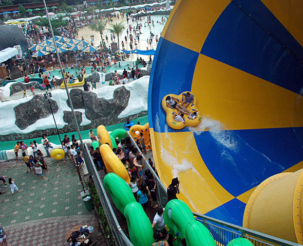 Snowbay Water Park, Jakarta