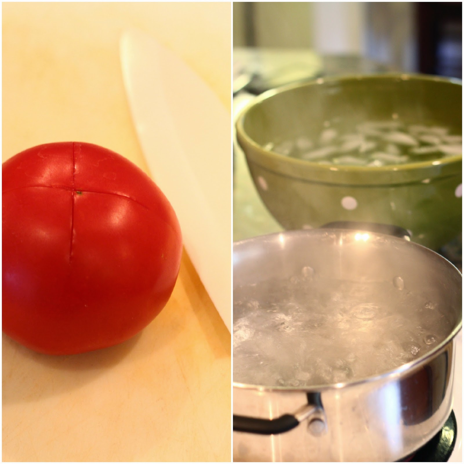 homemade tomato sauce, fresh from homegrown tomatoes, recipe, diy, can, fresh, tomato, ingredients, skin, dessed, heirloom