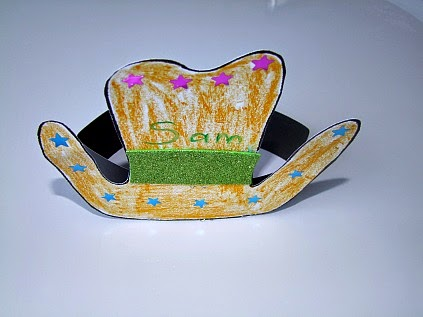 Hat munchkins and mayhem for Small cowboy hats for crafts