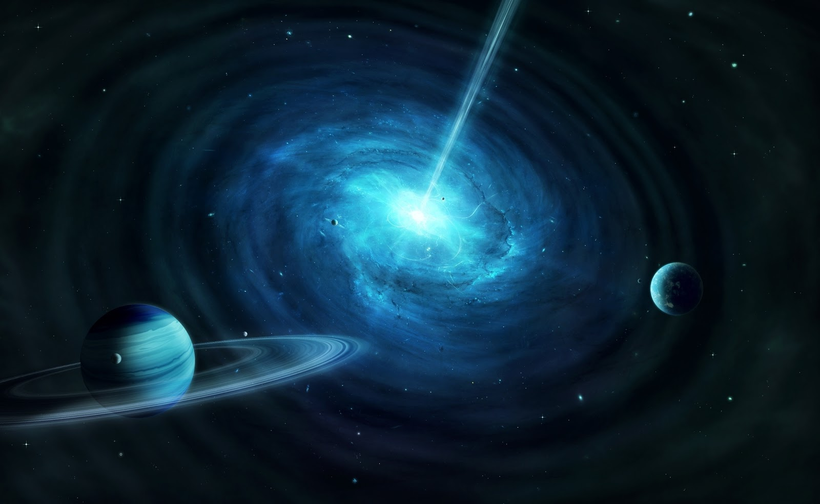 black holes in space 3d - photo #5
