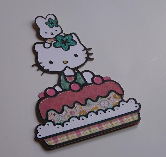 Kims scrapportunities i needed a cutesy little girl birthday card so i dug out my hello kitty greetings cricut cartridge m4hsunfo