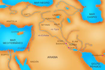 Sumerios (sumer) acadios (acad) y asirios (Asur)