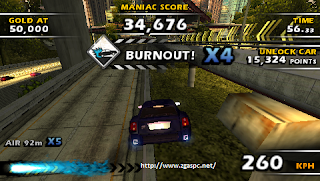 Free Download Games burnout dominator PSP For PC Full Version ZGASPC