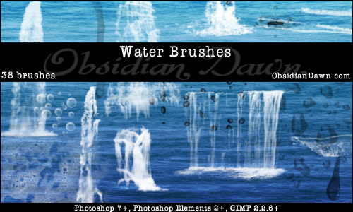 100+ Free Photoshop Illustrator Water Brushes