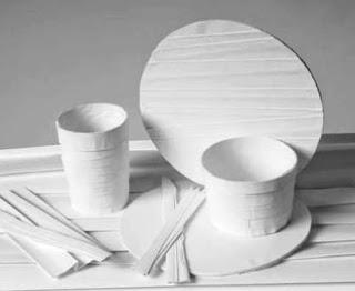 Trik Membuat Gelas dan Nampan dari Kertas