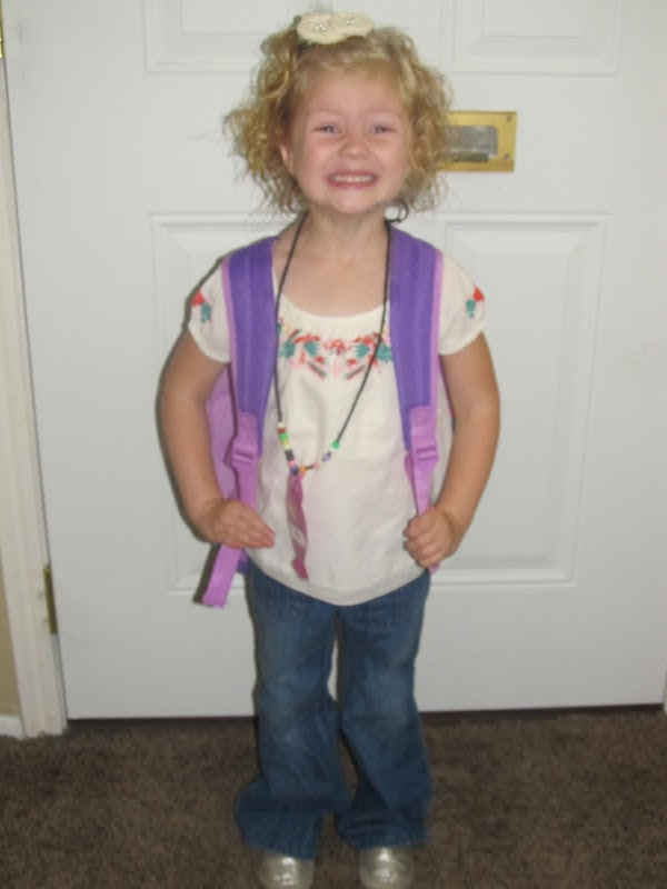First Day of School Outfits, First Day of Preschool Outfit