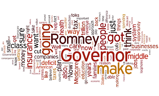 President Obama Wordle Denver, Colorado - October 3, 2012