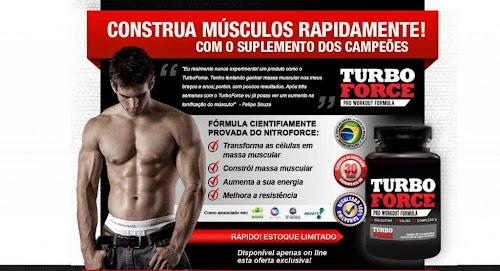 Turbo Force: o suplemento queridinho para praticantes de musculação