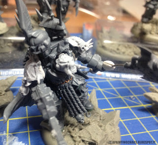 Chaos Lord of Khorne in Terminator armour, Axe of Blind Fury