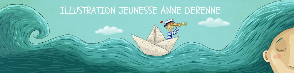 Illustration jeunesse, Anne Derenne