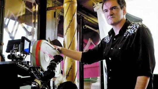 Quentin Tarantino, un defensor de la película de celuloide