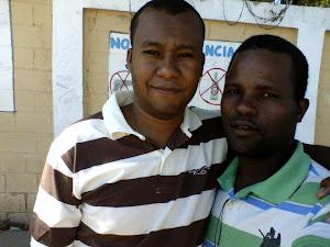 Mi Hermano del Arma  Wilson ( Anemia) y un Servidor  Guasapo