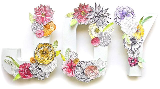 Alisaburke paper flower letters paper flower letters mightylinksfo