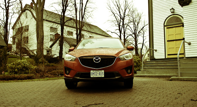 2014 Mazda CX5 GT front angle Christ Church