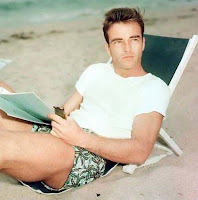Montgomery Clift. beach