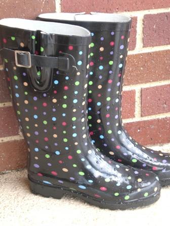 Rain Boots Polka Dots8