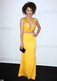 Former+Hollyoaks+star+Nathalie+Emmanuel+goes+for+extreme+cleavage+in+a+plunging+yellow+dress+at+the+LA+Furious+7+premiere.jpg